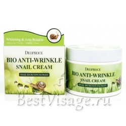 Deoproce Bio Anti-Wrinkle Snail Cream