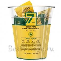 May Island 7 Days Secret Pore Clear Powder Scrub