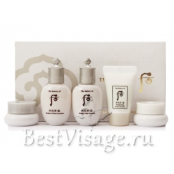The History Of Whoo Gongjinhyang: Seol Radiant White 5 Set