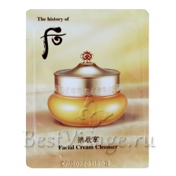 Пробник The History of Whoo Facial Cream Cleanser